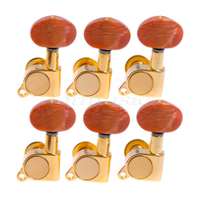 6 pieces left hand Acoustic guitar gold machine head tuners nice quality