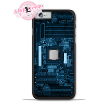 Computer Motherboard Funny Phone Cover Case For Apple iPhone X 8 7 6 6s Plus 5 5s SE 5c 4 4s For iPod Touch 5 4(China)