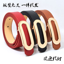 2017 Top quality PU childrens belts brand design children's waist belts for pants trousers boy's jeans belt metal buckle #75
