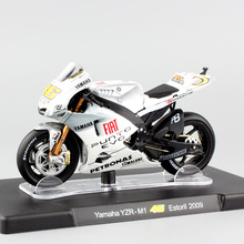 1:18 scale Leo MotoGP No.46 Valentino Rossi Yamaha YZR-M1 Estoril 2009 Championship motorcycle car Die cast model moto bike toys(China)