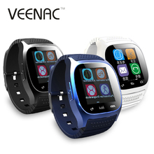 VEENAC Sport M26 Reloj Inteligente Hebrew Bluetooth Smart Watch Montre Connecter Android IOS Telephone SMS Remind Smartwatches