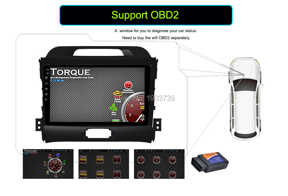 uniway 2G+32G 2 din android 7.1 car dvd for kia sportage 2014 2011 2009 2010 2013 2015 car radio stereo multimedia player