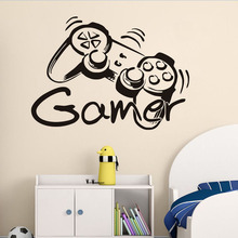 Game Remote Control Wall Sticker For Kids Room Wall Decor DIY Wallpaper Poster Decal Boys Bedroom Decoration Accessories