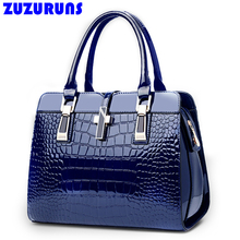 Fashion Crocodile Designer Pattern Leather Brand Women Bags Ladies Handbag bolsa feminina Shopping Tote Bags handbags borse a315