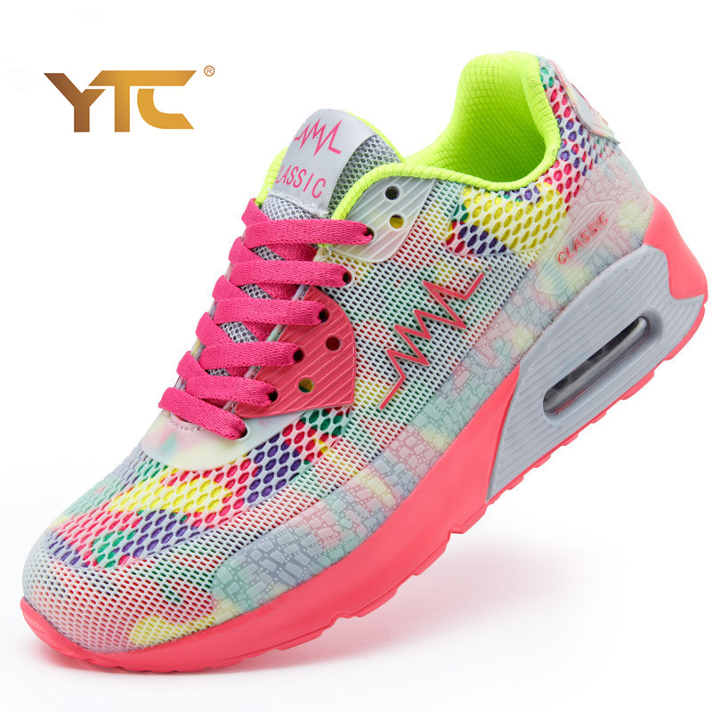 New 2015 Fashion Flats Women Trainers Breathable Sport Woman Shoes Casual Outdoor Walking Women Flats Zapatillas Mujer<br><br>Aliexpress