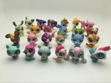 20pcs/1lot Littlest Pet Shop LPS Cartoon Dog 3cm Action Figures Kid Brinquedo Toys Birthday Gift Free Shipping