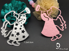 METAL CUTTING DIES baby angel horn star scrapbook album card paper craft stencils embossing template art cutter punch