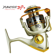 Spinning Fishing Reel Metal Coil 12 Ball Bearing 1000-7000 Series Spinning Reel Boat Rock Fishing Wheel carretilhas de pescaria