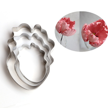 Parrot Tulip Flower Cake Mold Fondant Cookie Cutters Stainless Steel Baking Tools Cake Decorating Tools Kitchen Accessories A357