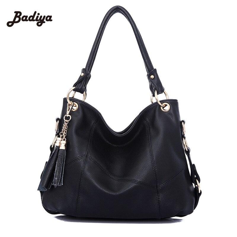 2016 New Genuine Leather Tassel Handbag Women Messenger Bags Ladies Handbags Women Shoulder Crossbody Bags Bolsa Feminina<br>