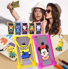 Cute Cartoon Batman Spongebob hello kitty Silicon phone Cases Cover for Wiko Lenny3 Robby Sunny Tommy U Feel Fab Go Lite Prime(China)