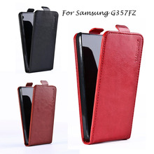 luxury Flip Leather cases for Samsung Galaxy Ace 4 LTE G357FZ phone case cover full protective skin Vertical Magnetic phone bag