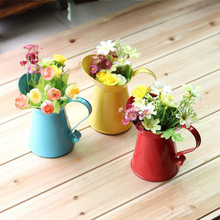 New ZAKKA groceries home decoration is hand-painted floral flower garden metal  shower Mini camera props Wholesale