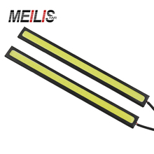 2Pcs 17CM car LED COB DRL Daytime Running Light Waterproof DC12V External Led Car Styling Car Light Source Parking Fog Bar Lamp