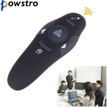 RF 2.4GHz USB Wireless Presenter Laser Pointer PPT Remote Control for Powerpoint Presentation Teaching Meeting Laser Pointers
