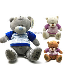 1pcs Cartoon Plush Big size Teddy Bear Toys Jumbo Stuffed Dolls Birthday To You Bears Valentines for Baby&Kids Christmas Gift