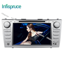 Infispruce 2G Quad core 1024*600 HD 2 din Android car dvd player For CAMRY 2007-2011 auto radio double din with google play