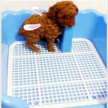 Puppy Indoor Pet Dog Toilet Mat Training Tray lovely Paper Potty Pad Clean  Tool Restroom Bathroom Pet Supplies Cleanning DDM871