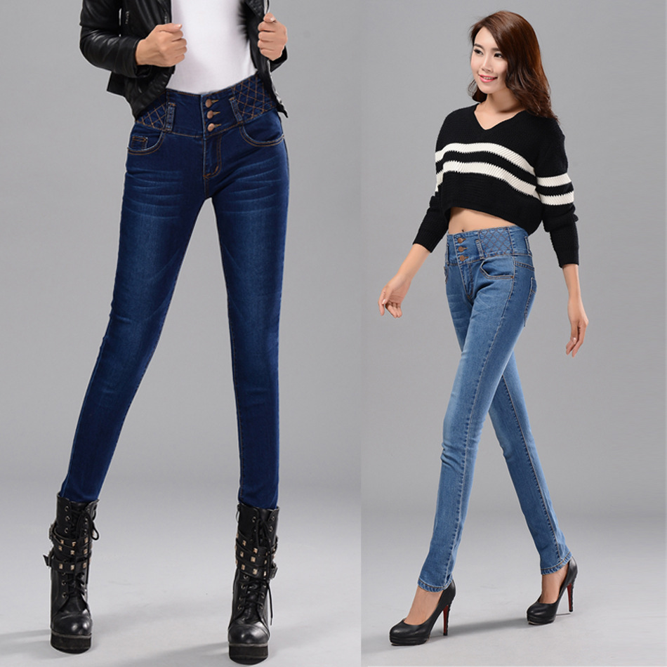 Waist jeans women