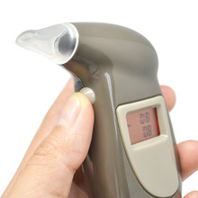 Free Shipping Breath Alcohol Tester Quick Response Portable Digital LED Display Alcohol Detector Breathalyzer Blowing Drunk