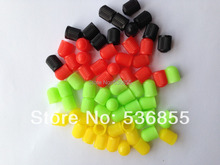 160 pcs Colorful plastic Car wheel Tire Valve Caps stem, tyre valve dust cap. VC8  cap, mixed color assorted.universal valve cap