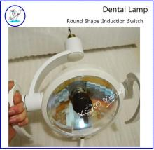 Round operating light Halongen dental lamp dental chair lamps Oral Light Induction lamp Dental Unit operation light