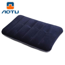 New Outdoor Portable Folding Air Inflatable Pillow Travel Camping Air Sleep Bag Pillows Airplane Table Nap Back Mat 43*28*57cm