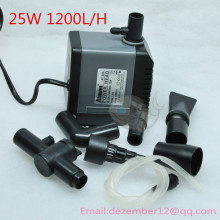 25W 1200L/H Aquarium Poweheader Submersible Pump Fish Tank Water Pump Liquid Filter Various Outlet Connectors