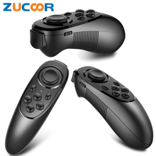 Mocute Mini Game Handle 3D VR Box Controller Wireless Bluetooth Remote Pad Joystick Selfie Shutter for PC Smart TV iOS Android