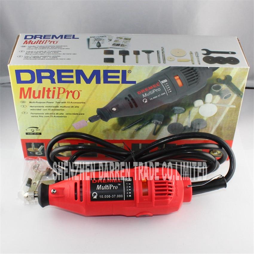 220W Dremel Grinder Variable Speed Rotary Tool,Dremel Mini Drill Electric mill 10000-37000R/MIN<br>