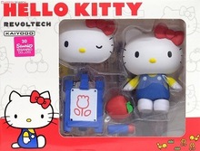 Anime Cute Nendoroid Hello Kitty Movable PVC Action Figure Collectible Model Toy Doll 8CM KT0100(China)