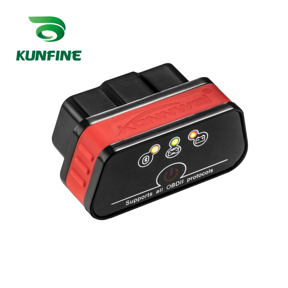 Auto Diagnostic Tool Car engine code Scanner Vehicle fault reader KF-A1184_8416