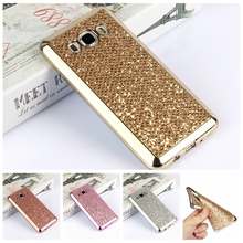 Luxury Glitter Bling TPU Silicone Case For Samsung Galaxy S4 S5 S6 S7 Edge A5 J3 J5 J7 Grand Prime G531H Neo Plus I9060i Cover