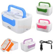 Electric Heated Lunch Box Portable Food Warmer Container Bento 220V 5 Colors