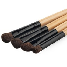 Hot 4Pcs Pro Makeup Cosmetic Tool Powder Foundation Eyeshadow Blending Brush Set