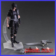 MODEL FANS Play Arts Final Fantasy Figure Final Fantasy XV Noctis Lucis Caelum Figure PA 27cm PVC Action Figure