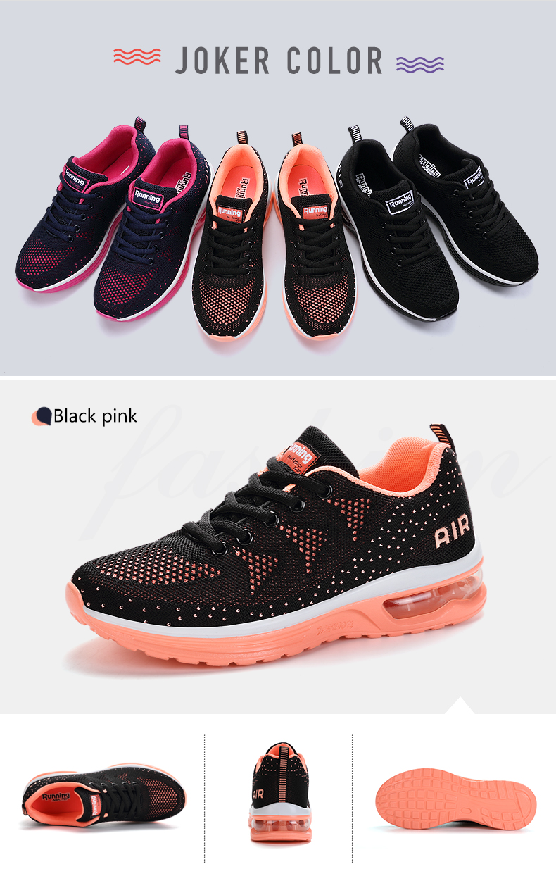 New Arrival Running Shoes For Women Men Cushioning Sports Shoes Woman Jogging Shoes Black Sneakers Zapatillas Hombre Deportiva 4