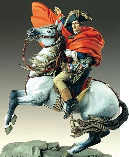 Napoleon in the Alps 90 mm<br>