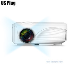 X9 LCD Projector 1000LM 800 x 480 Pixels with AV Audio HDMI VGA USB 2.0 TF Card Slot 1000:1 contrast ratio PK CL720
