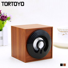 Quality Wood Wooden Mini Desktop PC Subwoofer Stereo USB Speaker Computer Speakers Loudspeaker for Laptop Notebook Smart Phone(China)