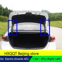 Trunk Hinge Braket Protect Cover Garnish For Hyundai Elantra  Avante AD  2017 2016 trunk support bar protective