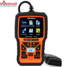 OBD 2 Automotive Scanner Foxwell NT301 OBD2 Auto Diagnostic Tool Multi Language OBDII Code Reader with I/M Monitor(China)