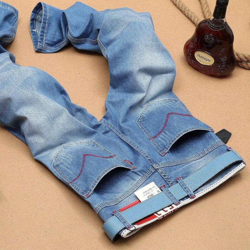 New Fashion 2017 famous brand men jeans mens  slim straight jeans long male trousers  long man denim pants jeans for men Y382Одежда и ак�е��уары<br><br><br>Aliexpress