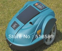free shipping robot mower supplier, Lead-acid battery, auto recharge, intelligent grass cutter garden tool freeshipping(China)