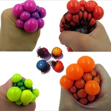 TOFOCO Stress Relief Squeeze Hand Wrist Toy Balls Anti Stress Healthy Venting Ball Autism Mood Squeeze Relief Gift