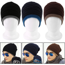 NEW Fashion Stylish Trendy Men Womens Winter Super Warm Knitted Oversized Slouch Hip Hop Fleece Hat Beanie