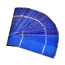 50pcs  Solar Panel 0.25W 0.5V 0.5A 76*19mm Polycrystalline Silicon Solar Panel Solar Cell DIY Charger Battery