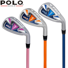 POLO Authentic Children Golf The 7th Club Kids Boy Private Cartoon Shaft Grip Green Junior Girl Golf Beginners Practice Club