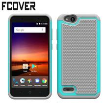 Hybrid Armor Rubber For ZTE Tempo X N9137 / Blade Vantage / Avid 4 Z839/FANFARE 3 Z852 Case Football Silicon & Hard Back Covers(China)