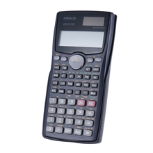 Scientific Calculator Counter Matrix Dot Vector Equation Calculate Solar and Battery Dual Powered 2 Line Display Business